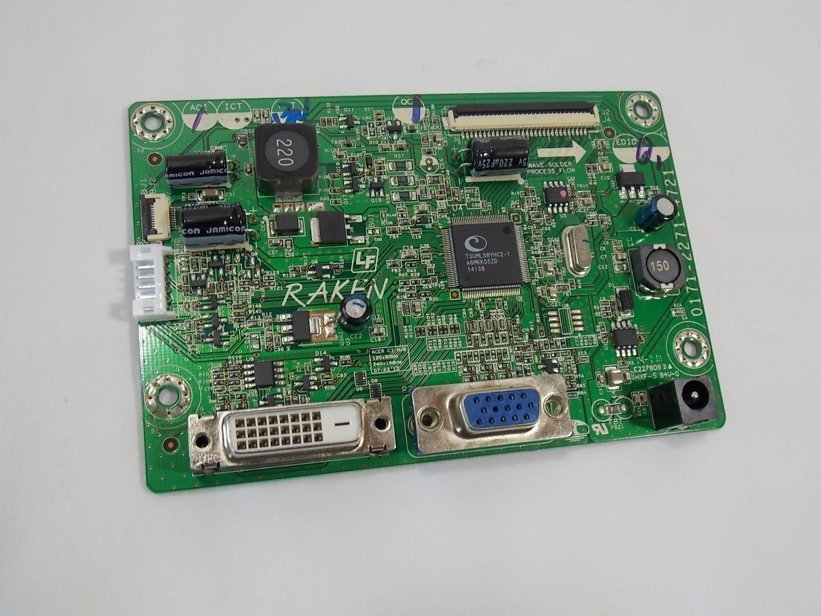 ACER S230HL MONITOR MAIN BOARD 0171-2271-4721 R3523-0172-0150 55