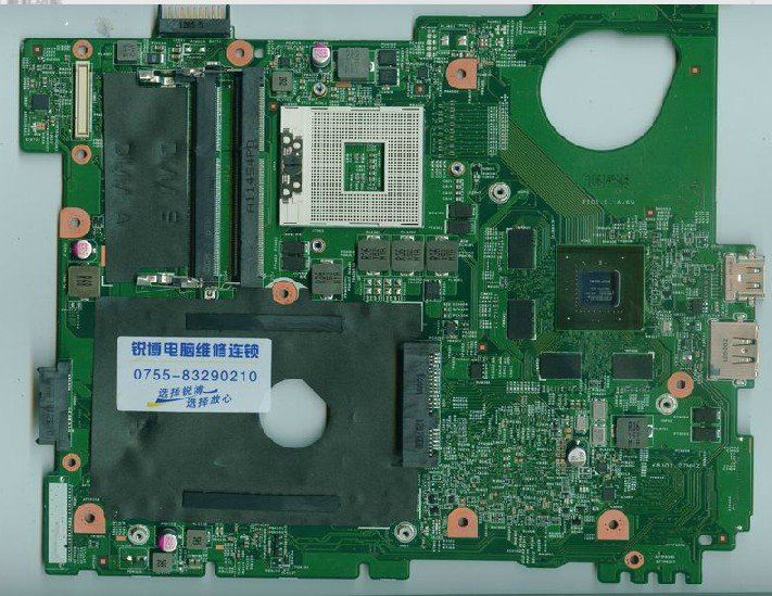0MWXPK For Dell Inspiron N5110 Motherboard 15R N5110 MWXPK