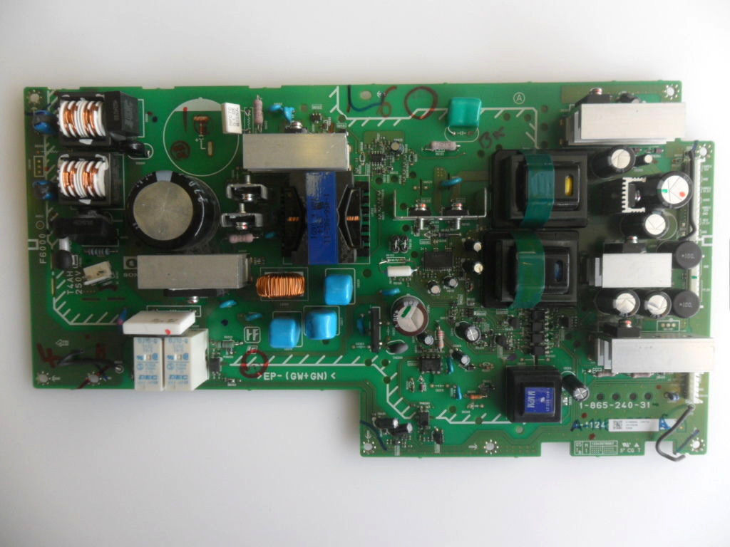 Sony KDL-S32A12U Power Supply PCB 1-865-240-31 G2 A-1168-958-A