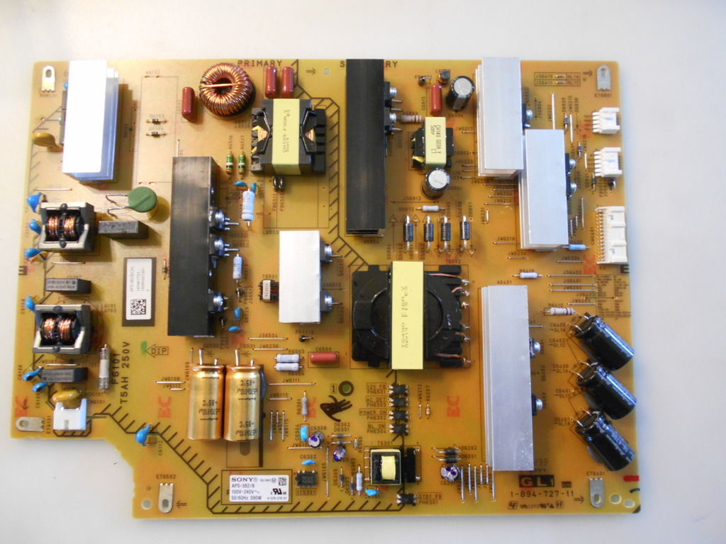 Sony Power Supply Board 1-894-727-11