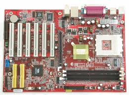 KT4V MS-6712 VER: 10A 462 motherboard w CPU Fan