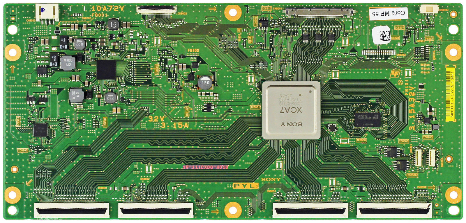 Sony 1P-111CX00-4010 PYL2 T-con Board for KDL-46HX850