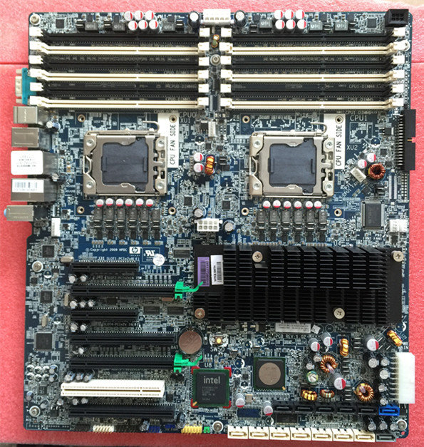 HP Z800 Workstation Motherboard Dual LGA1366 460838-003 591182-001