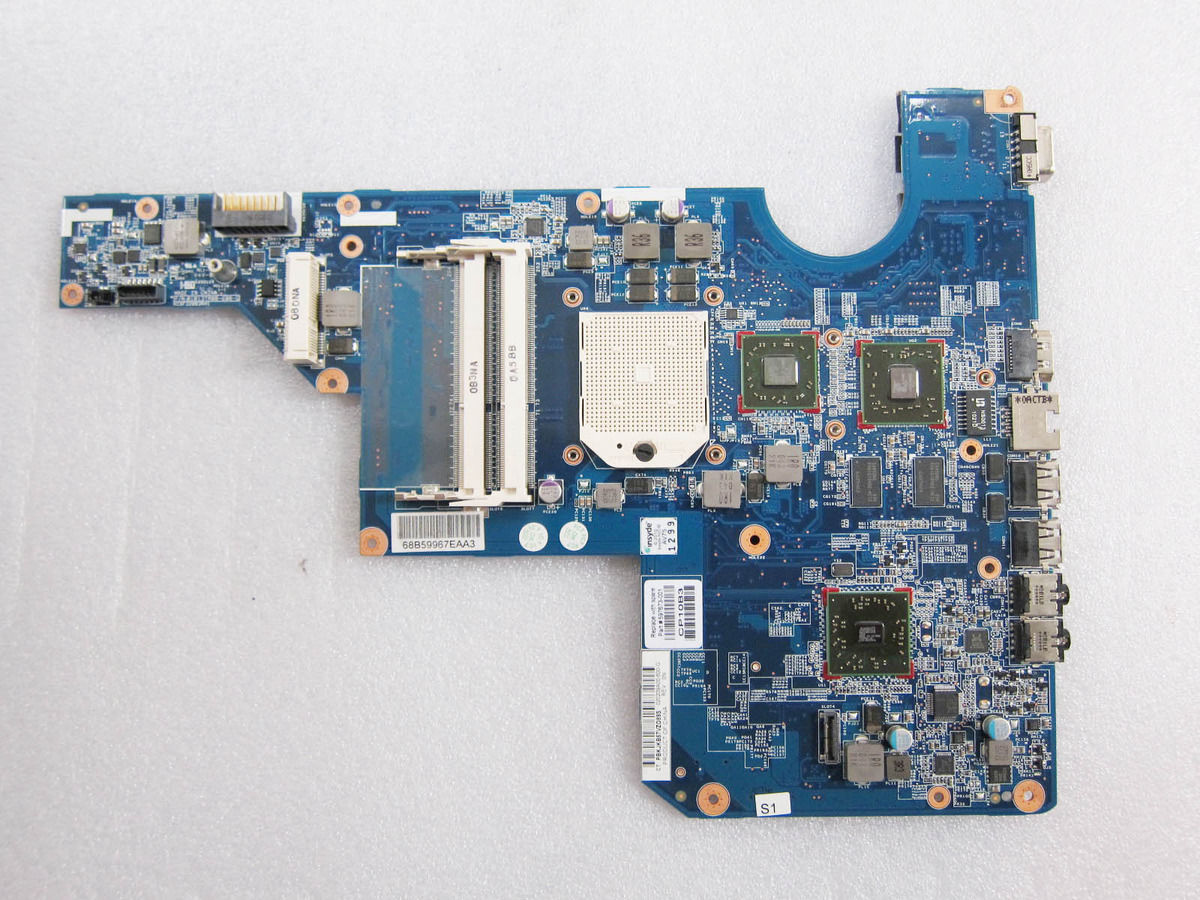 LAPTOP MOTHERBOARD for HP G62 COMPAQ CQ62 Series 597673-001 AMD