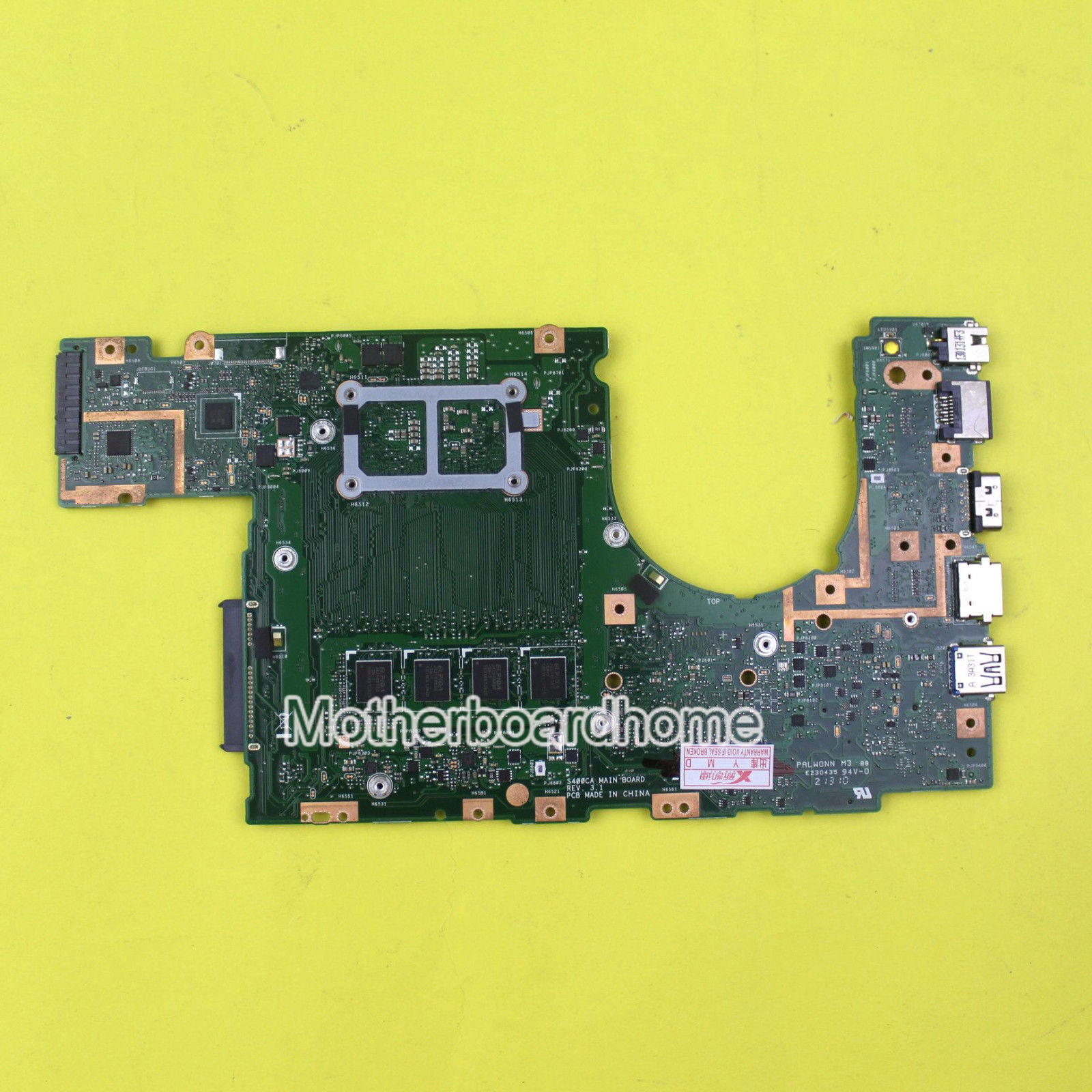 For ASUS S400CA Motherboard w/ Intel i7 CPU REV3.1 4GB Mainboard 60NB0050-MB2010