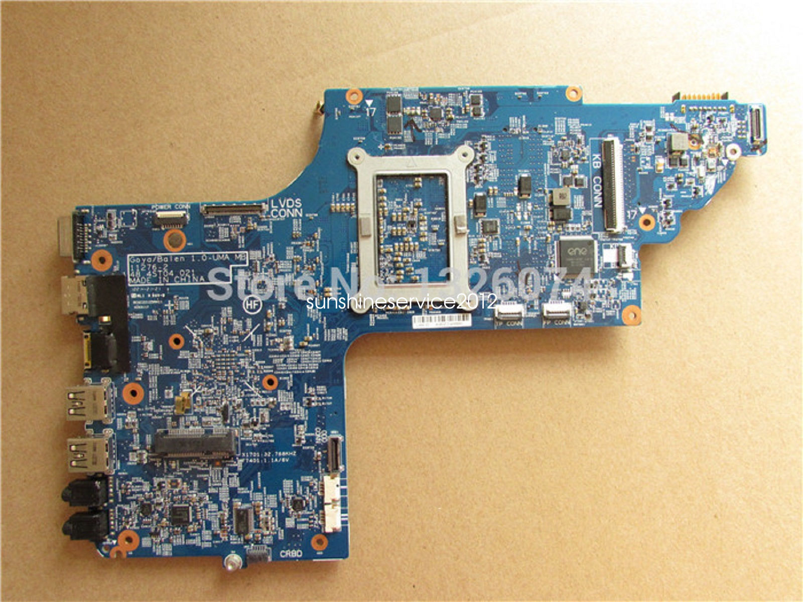 HP DV7 DV7T DV7-7000 series Intel HM77 Motherboard 682043-501 48