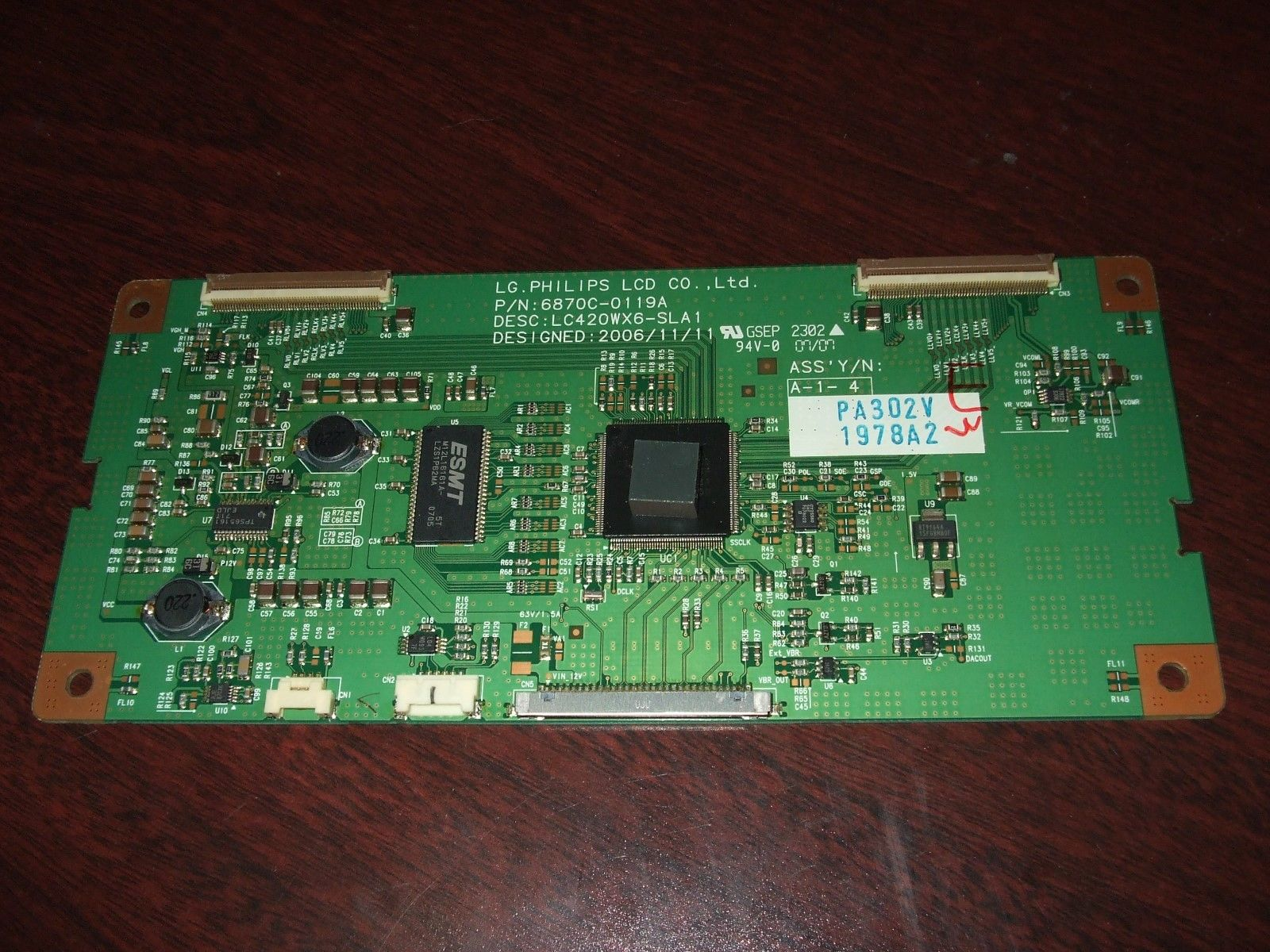 CONTROLLER BOARD 6870C-0119A/6871L-1978A FOR A LG 42LC7D