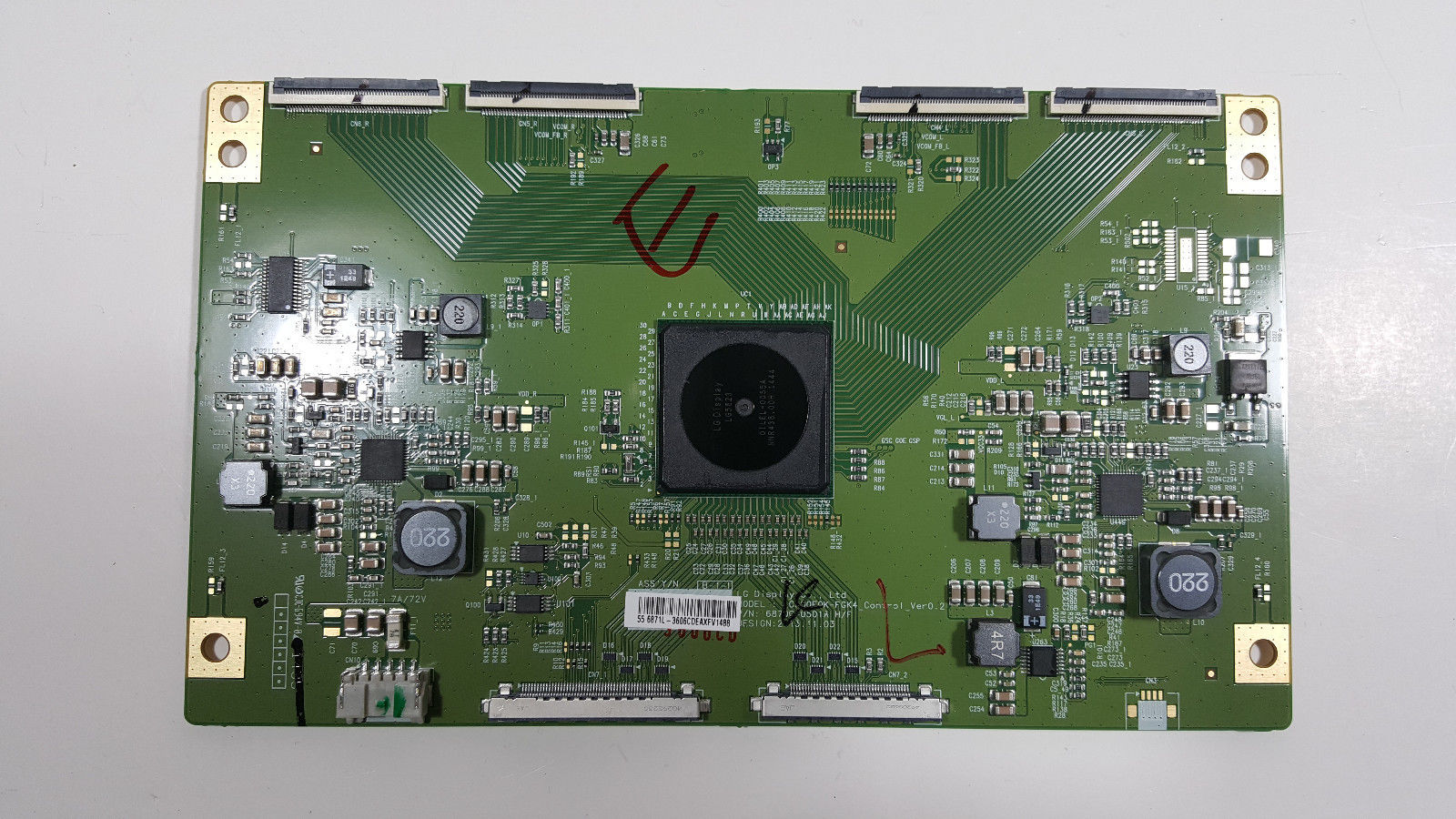 SONY LED TV T-CON BOARD 6870C-0501A from XBR-55X850B