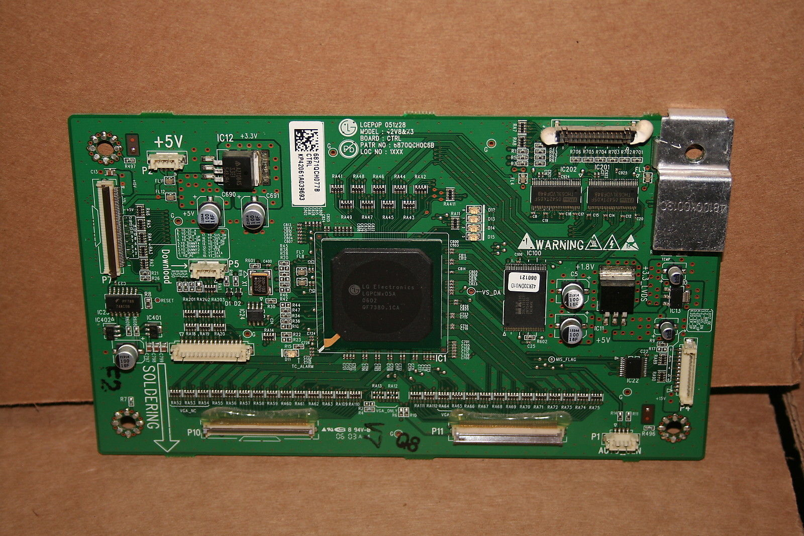 HP PL4260N CPTOH-0602 & Others Logic main board #6871QCH077B CRT
