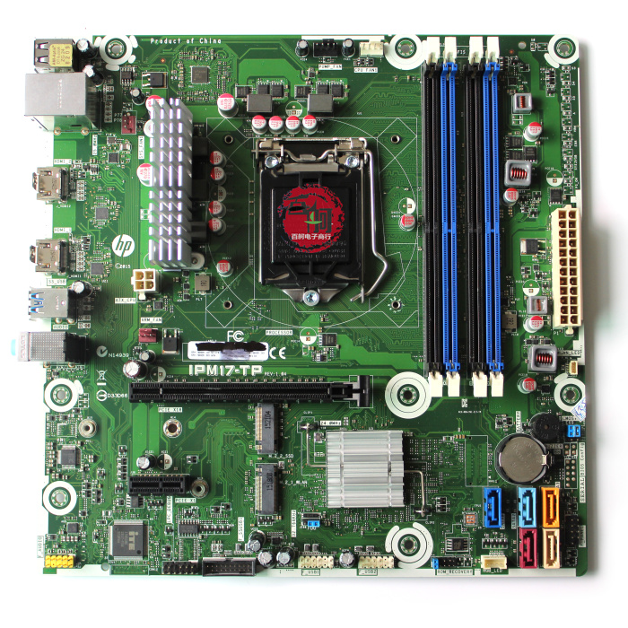 New HP IPM17-DD REV:1.04 motherboard 799926-001 LGA115X DDR3 USB