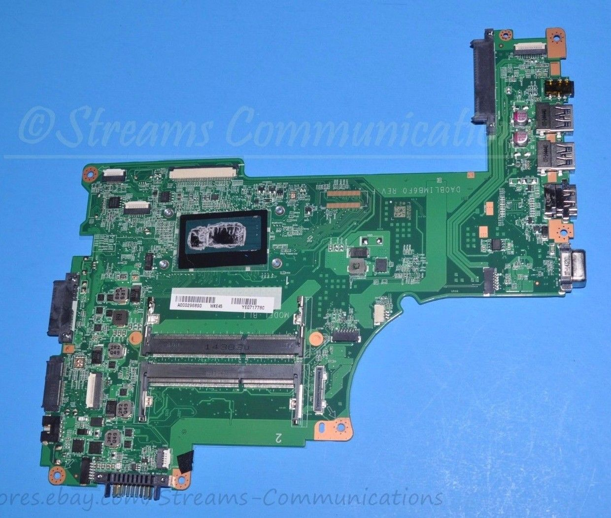TOSHIBA Satellite L55-B i5-4210U INTEL Laptop Motherboard A00029