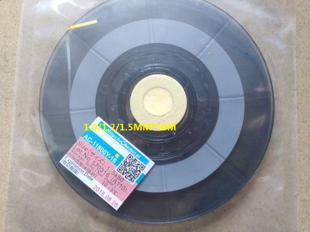 Original For Hitachi ACF AC-11800Y-16 LCD Anisotropic Conductor Repair Tape 1.2mm*50M(N