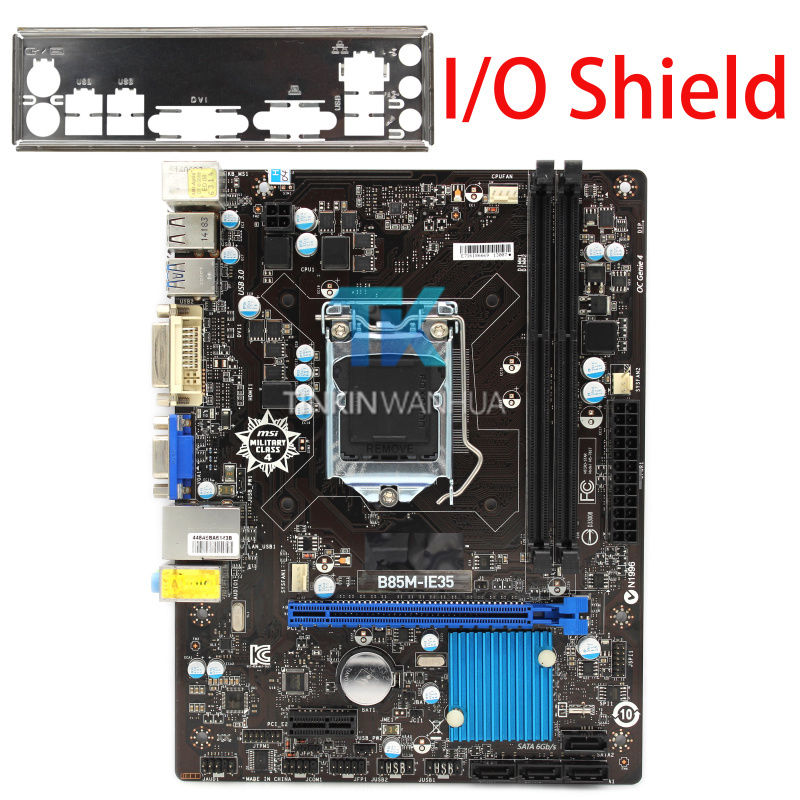 MSI B85M-IE35 Original Motherboard Intel B85 Socket LGA 1150 16G
