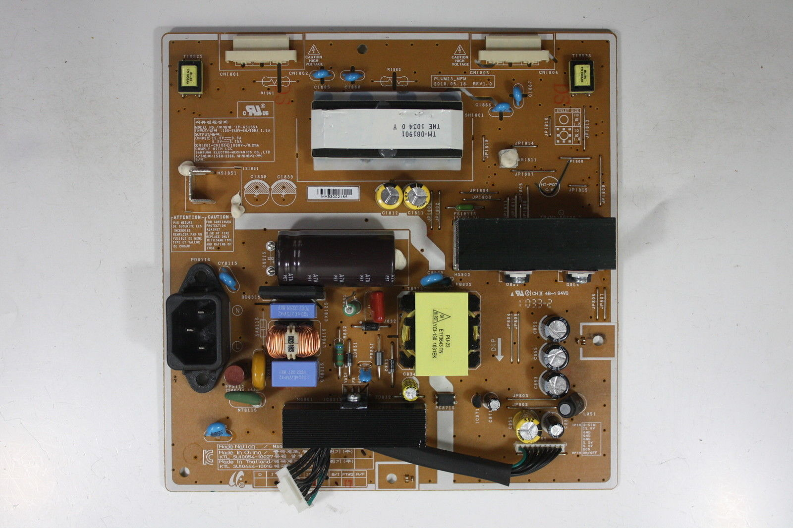 "Samsung 24"" B2430HD PM24TS BN44-00392A Power Supply Board Unit"