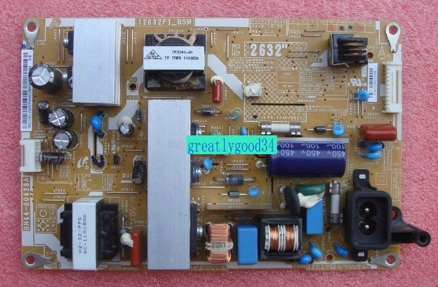 Original Power Board Monitor Samsung LA32D450G1 LA32D400E1 BN44-