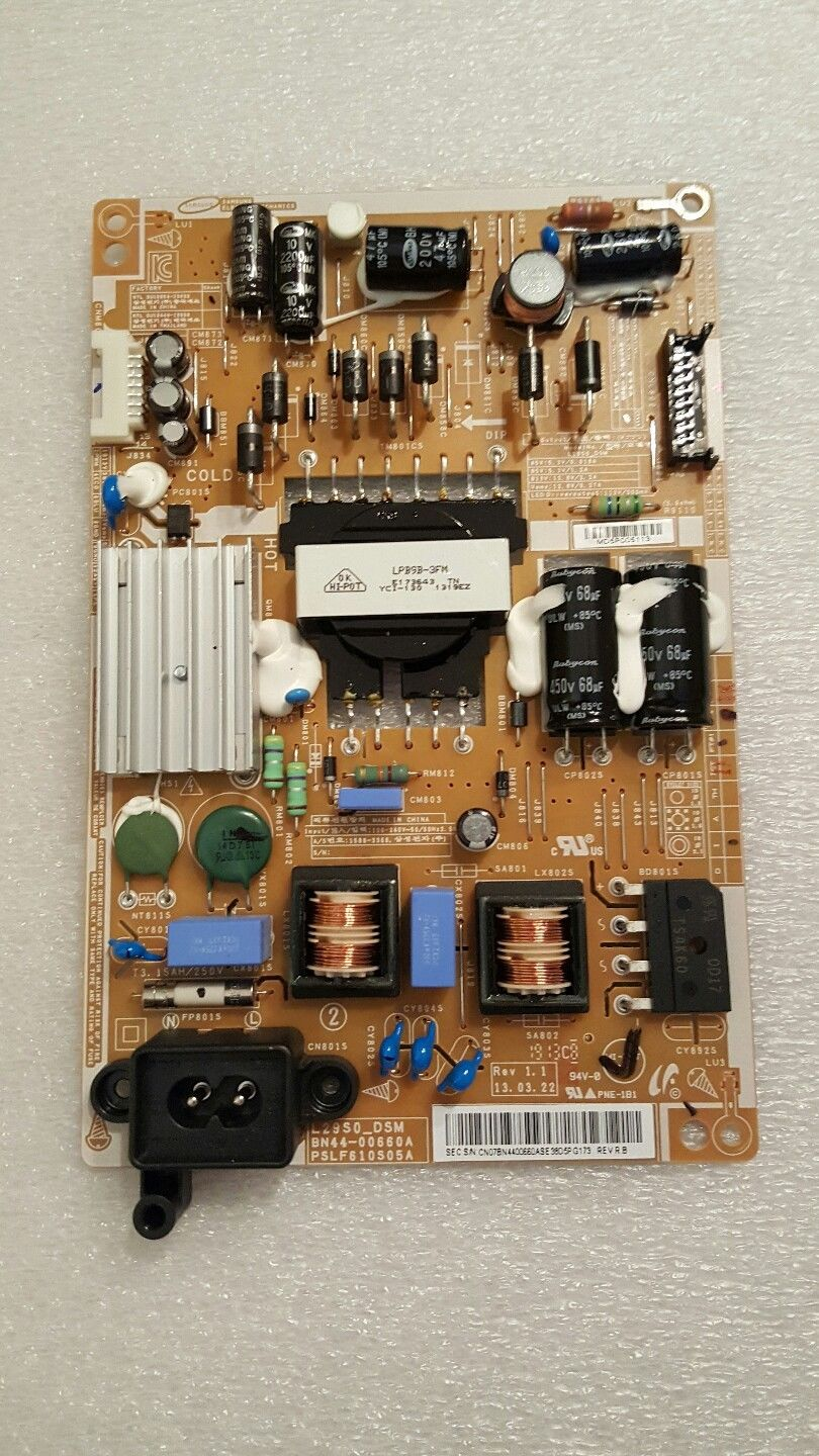 Samsung UN29F4000AFXZA Power Supply / LED Board BN44-00660A test