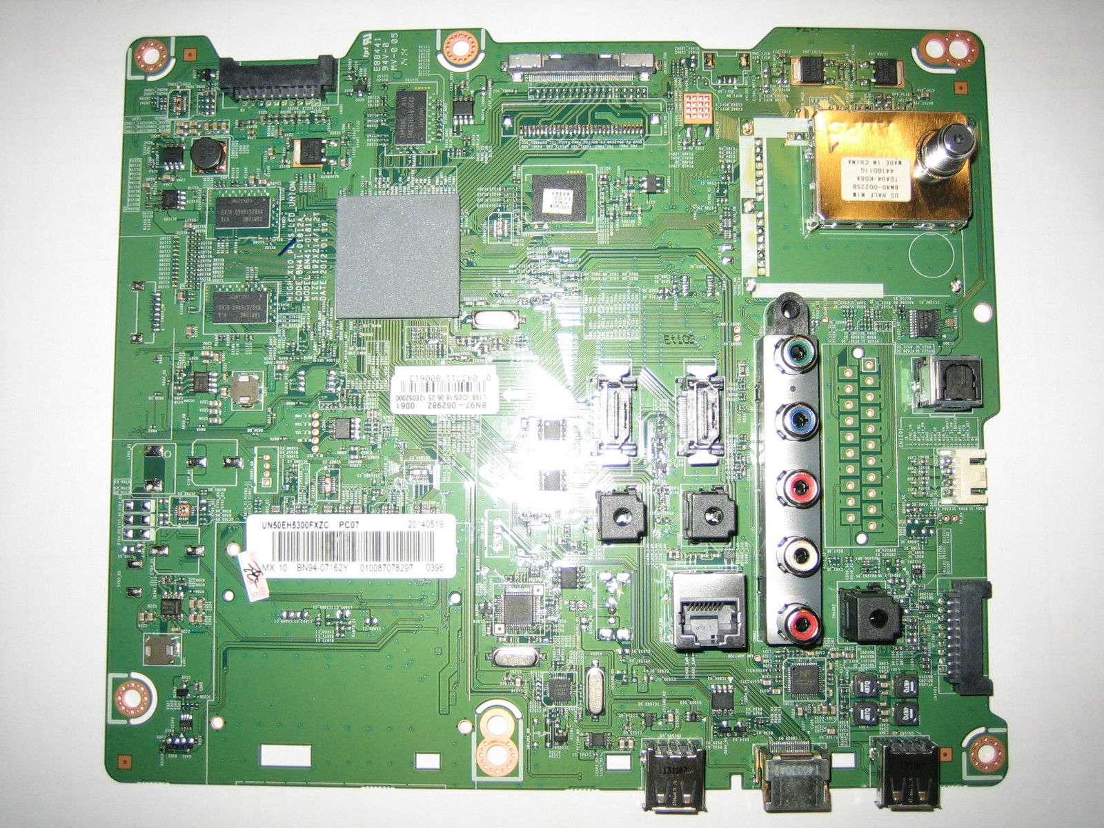 BN97-06298Z main circuit board for Samsung UN50EH5300FXZC