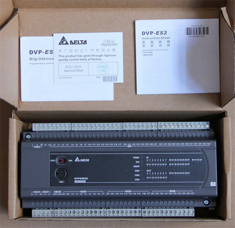 DVP60ES200T Delta ES2 Series Standard PLC DI 36 DO 24 Transistor new in box