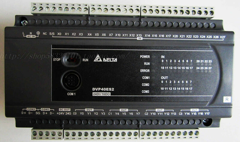 DVP40ES200R Delta ES2 Series Standard PLC DI 24 DO 16 Relay new in box