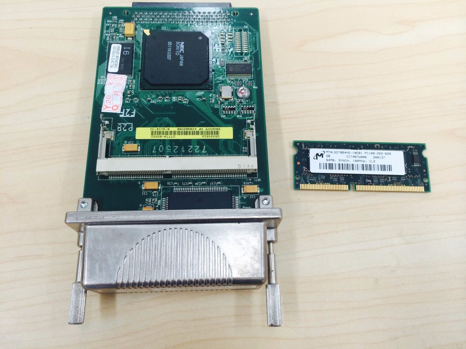 C7779-69272 C7769-69260 HP DesignJet 800 PS Formatter Board Card