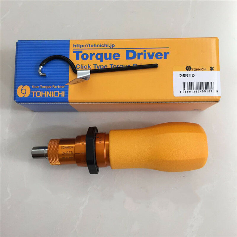 TOHNICHI Adjustable Torque Screwdriver 26RTD 6-26 kgf.cm EXPEDITED SHIPPING