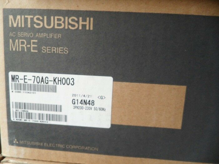 MITSUBISHI AC SERVO DRIVER MR-E-70AG-KH003 NEW EXPEDITED SHIPPING