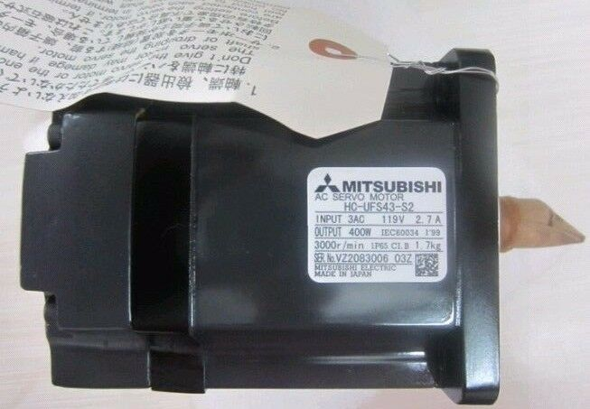 MITSUBISHI AC SERVO MOTOR HC-UFS43-S2 NEW ORIGINAL EXPEDITED SHIPPING