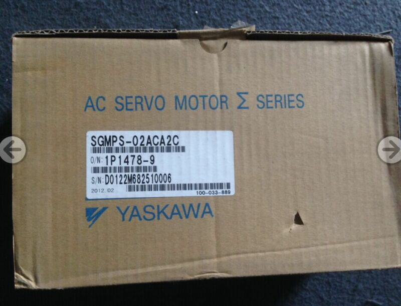1PC YASKAWA AC SERVO MOTOR SGMPS-02ACA2C NEW EXPEDITED SHIPPING