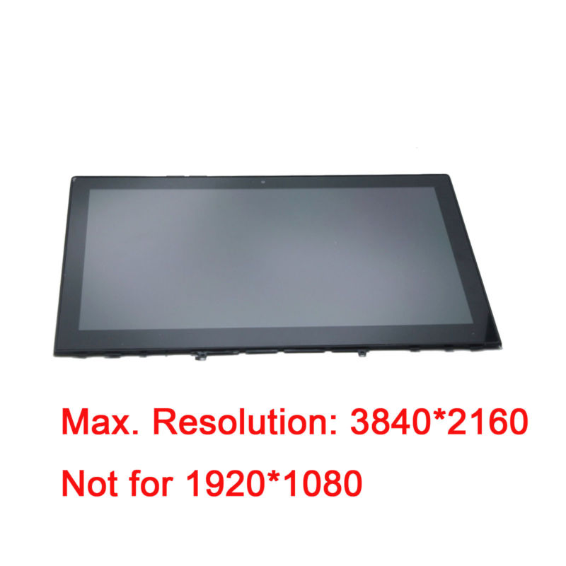 3840*2160 LCD Display Touch Screen Assembly Frame For Lenovo Y50-70 TOUCH