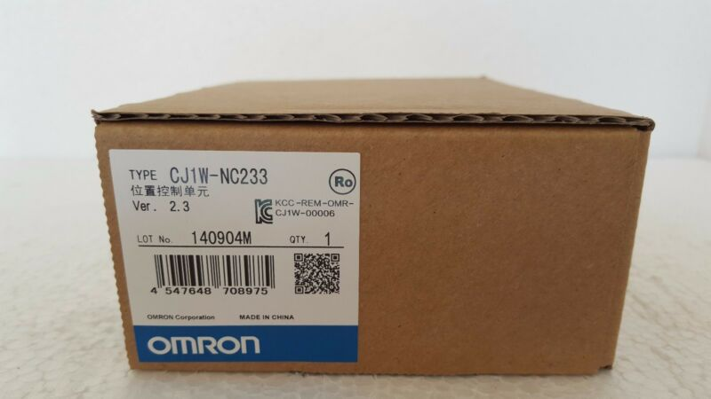 1PC OMRON NC UNIT CJ1W-NC233 NEW ORIGINAL EXPEDITED SHIPPING