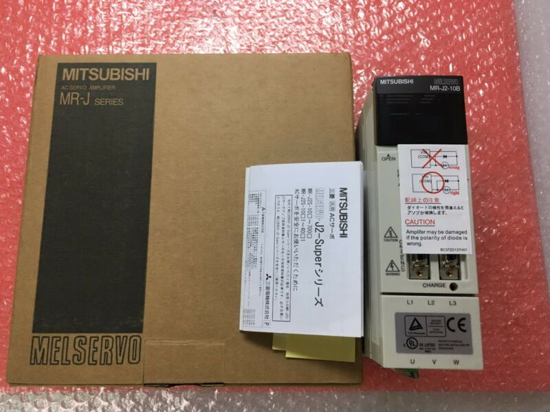 1PC MITSUBISHI AC SERVO DRIVER MR-J2-10B NEW ORIGINAL EXPEDITED SHIP