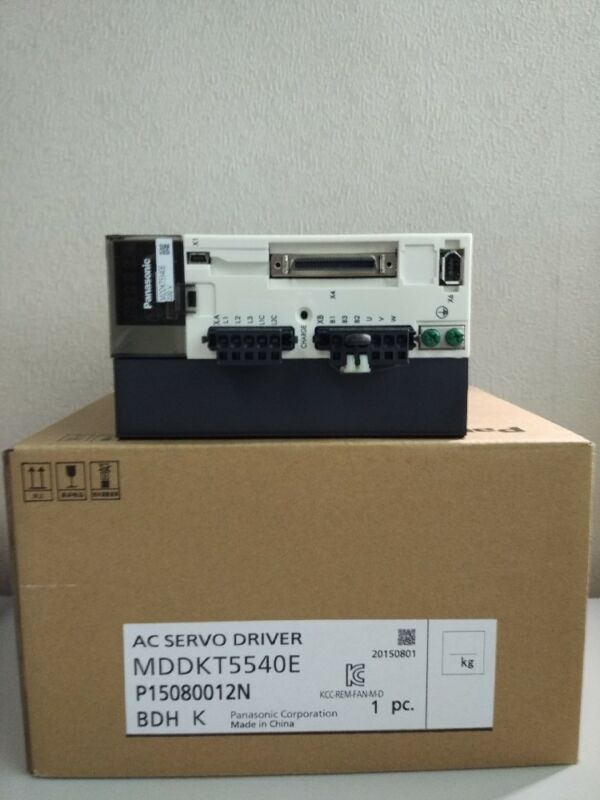 NEW ORIGINAL 1PC PANASONIC AC SERVO DRIVER MDDKT5540E EXPEDITED SHIPPING
