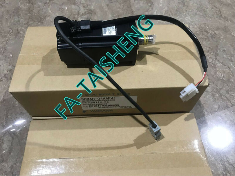 1PC YASKAWA AC SERVO MOTOR SGMAH-04AAF41 NEW ORIGINAL EXPEDITED SHIPPING