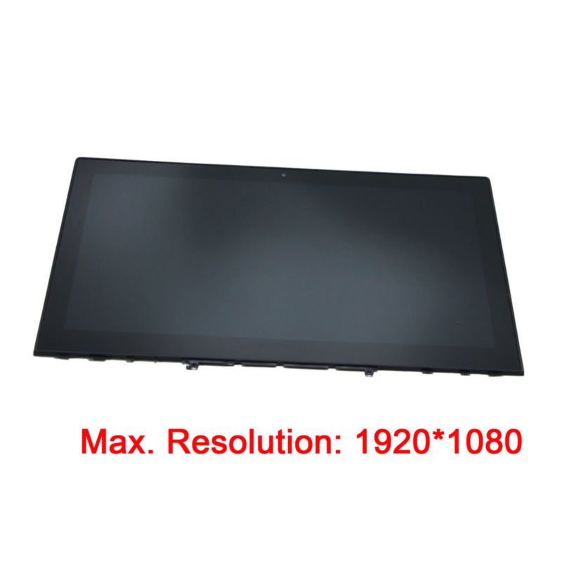 FHD LCD Display Touch Screen Assembly Frame For Lenovo Y50-70 20349 TOUCH