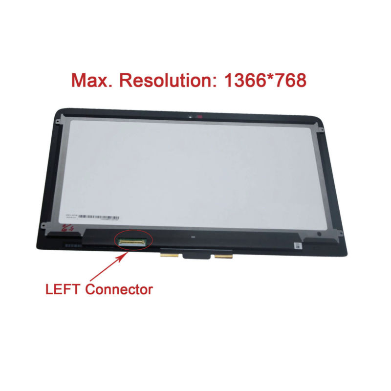 1366*768 Touch Digitizer LCD Screen Assembly for HP Pavilion 13-S020 X360