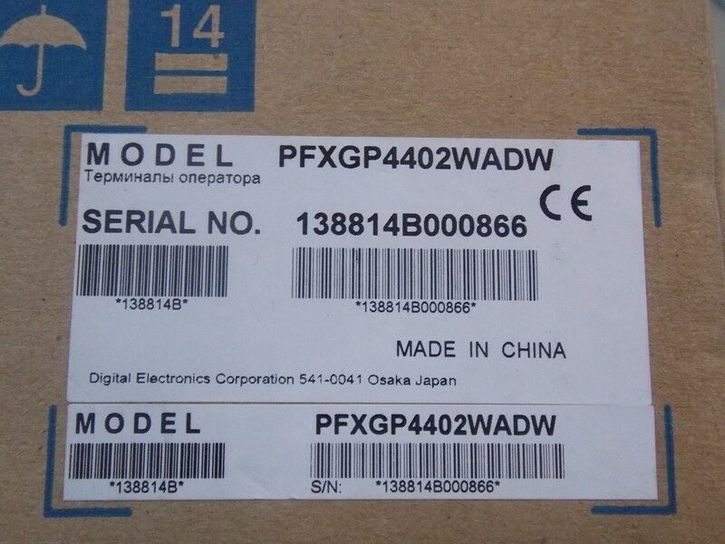 1PC NEW PROFACE TOUCH PANEL PFXGP4402WADW GP-4402WW EXPEDITED SHIPPING