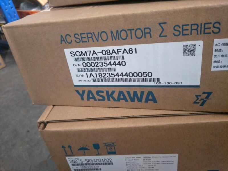 1PC YASKAWA AC SERVO MOTOR SGM7A-08AFA61 NEW ORIGINAL EXPEDITED SHIPPING