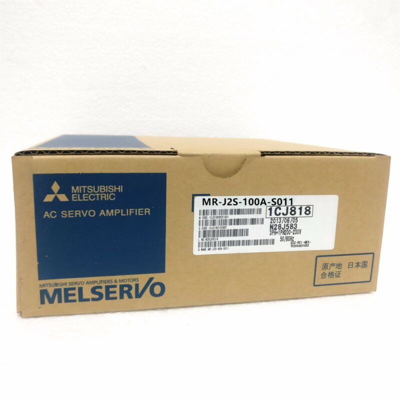 1PC MITSUBISHI AC SERVO DRIVER MR-J2S-100A-S011 NEW EXPEDITED SHIPPING