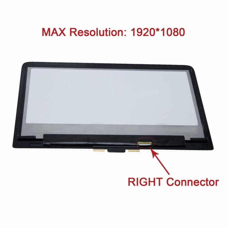 1080P FHD Touch Panel LCD Screen Assembly for HP Pavilion 13-S123CL X360
