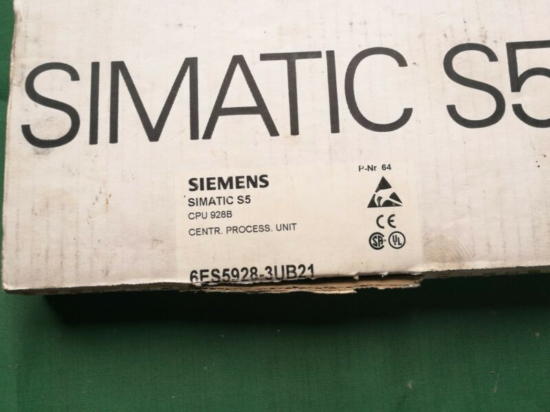 NEW ORIGINAL SIEMENS CENTRAL PROCESS UNIT 6ES5928-3UB21 EXPEDITED SHIPPING