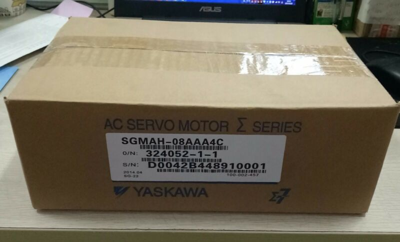 1PC YASKAWA AC SERVO MOTOR SGMAH-08AAA4C NEW ORIGINAL EXPEDITED SHIPPING