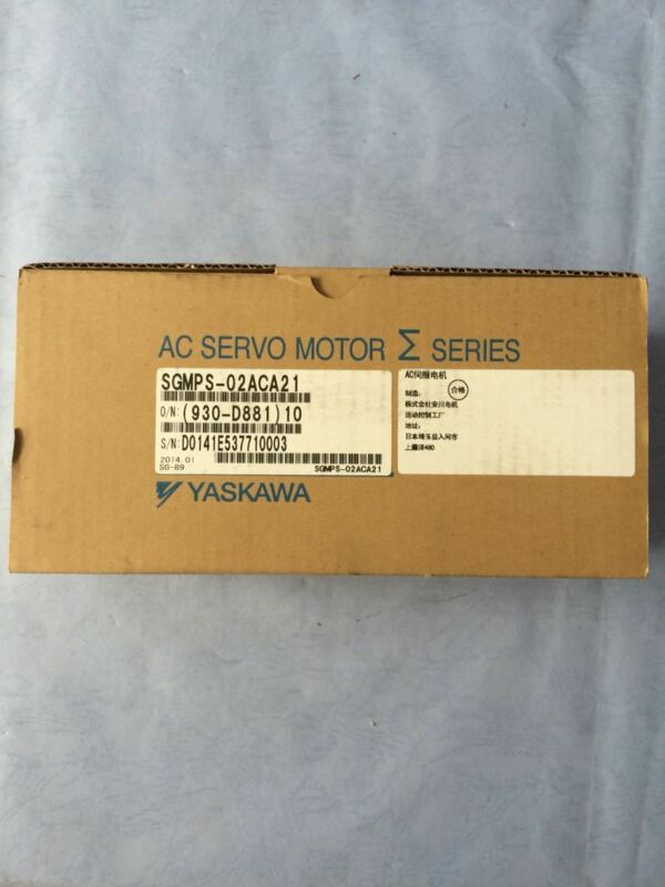 1PC YASKAWA AC SERVO MOTOR SGMPS-02ACA21 NEW EXPEDITED SHIPPING