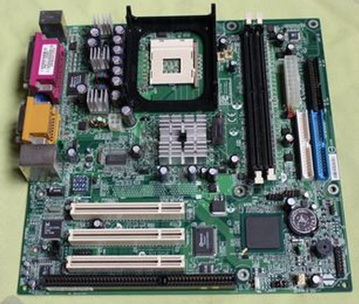 MSI D845GL 478 Intel motherboard integrated ITX ISA