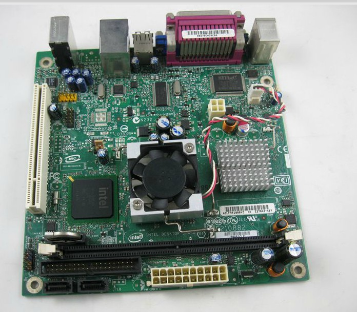 Intel Desktop MINI-ITX Motherboard D945GCLF2 with Atom Processor