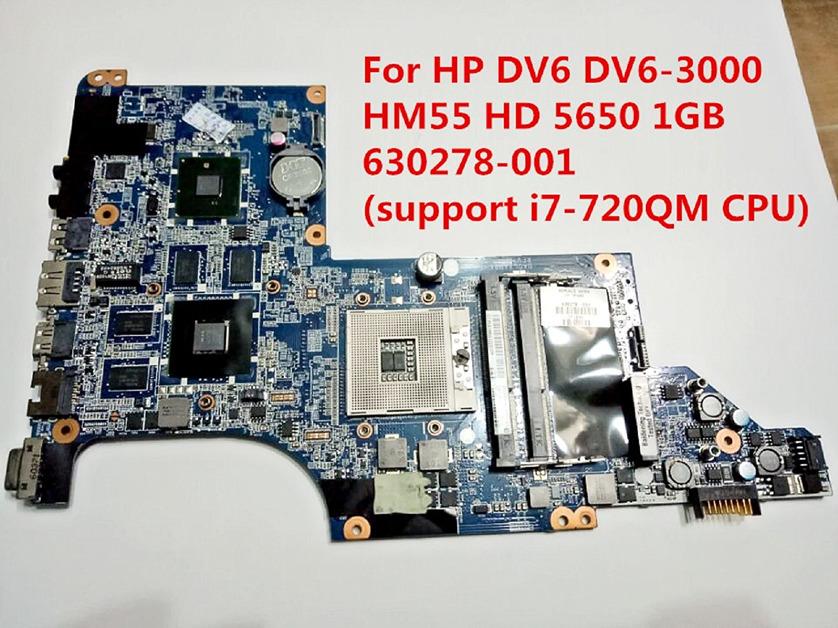 Motherboard HP Hewlett-Packard COMPAQ CQ62 G62 597674-001