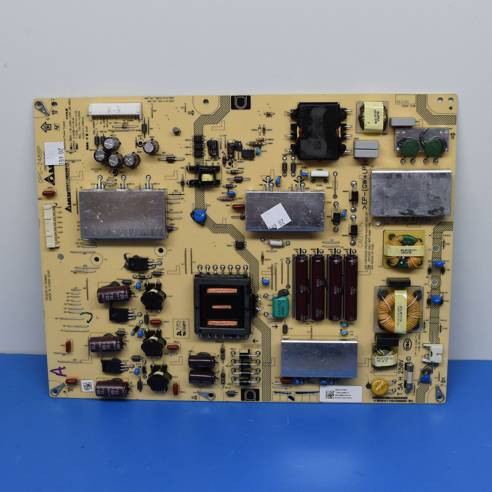 Sony 1-895-407-11 DPS-248BP) GE70 Power Supply LED Board KDL-70R