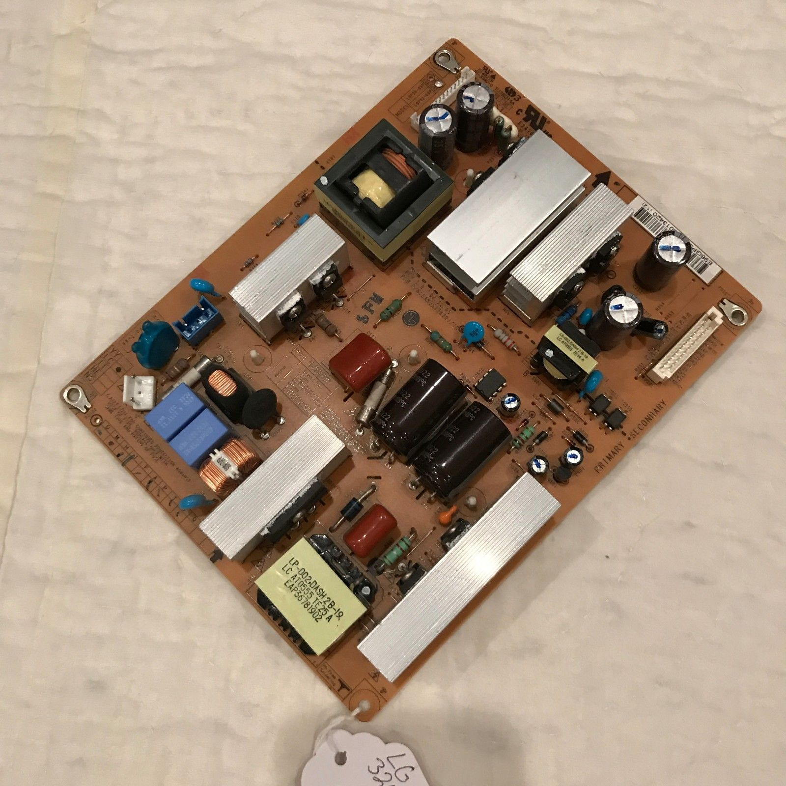 LG EAY58582801 POWER SUPPLY BOARD FOR 32LH30 AND OTHER MODELS