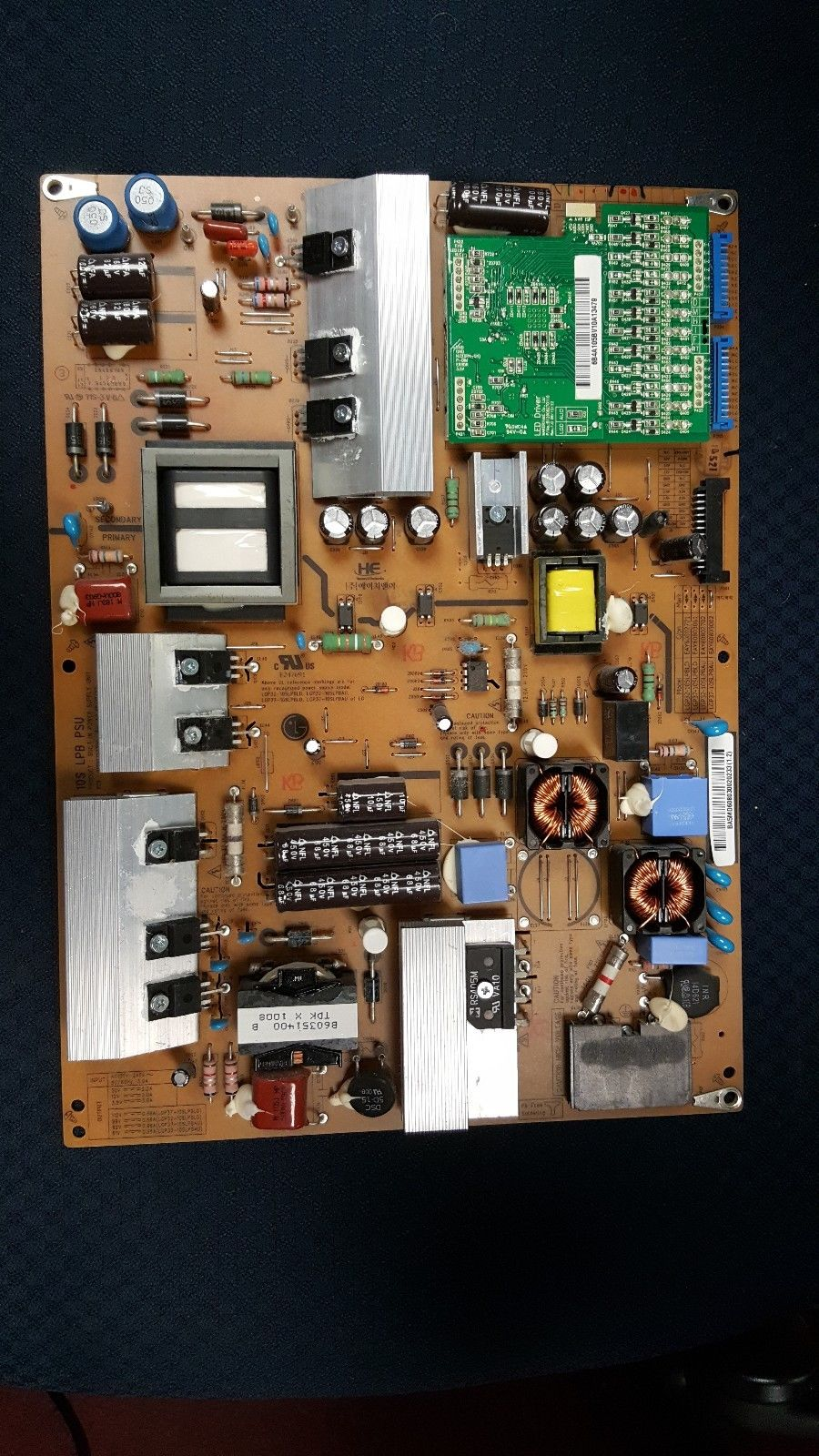 POWER SUPPLY BOARD EAY60803002 LG 37LE5300-VC