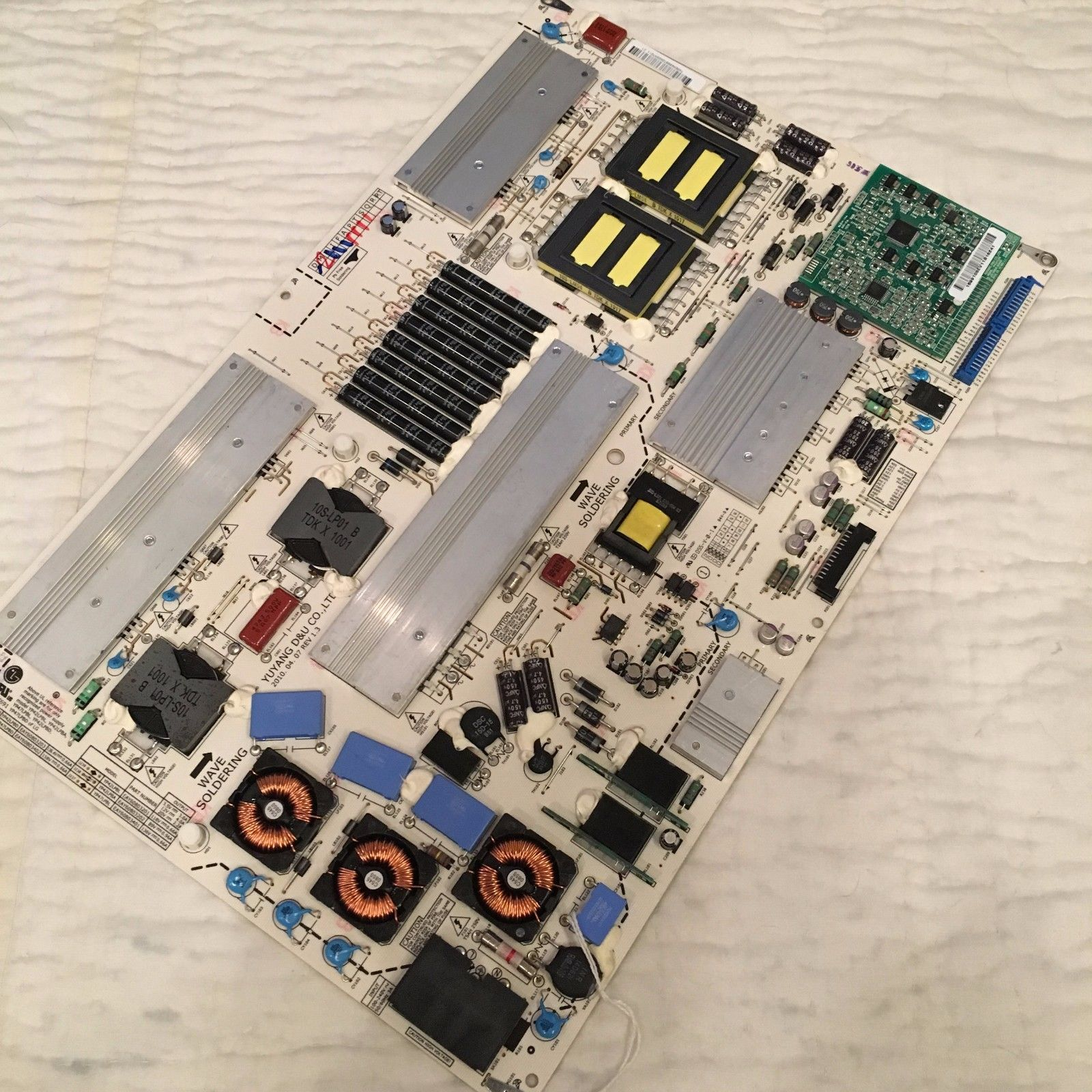 LG EAY60803202 YP42LPBA Power Supply LED Board