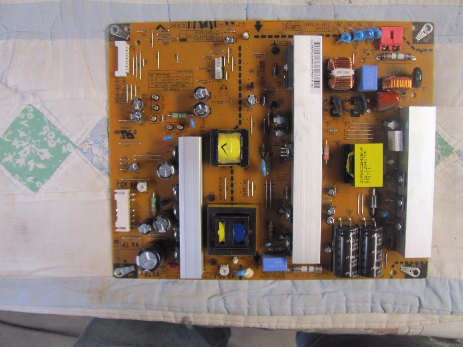 LG 42PA450C-UM Power Supply Board EAY62609601 EAX64276601/13